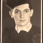 Helvio Jobim, na ocasião de sua formatura.