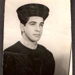 Walter Jobim Neto, na ocasião de sua formatura em 1968.