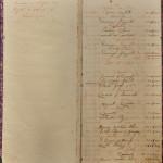 Caderno de honorários do Dr. Walter Jobim, com menção ao início das atividades do escritório, em Agosto de 1915.